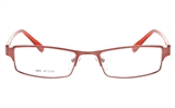 MAY BLANC 969 Stainless Steel/ZYL Child Full Rim Square Optical Glasses