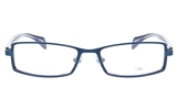 EFASHION E1195 Stainless Steel/ZYL Unisex Full Rim Square Optical Glasses
