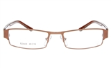 MAY BLANC OD608 Stainless Steel/ZYL Child Full Rim Square Optical Glasses