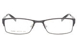 TINO SJ062 Stainless Steel Unisex Full Rim Square Optical Glasses