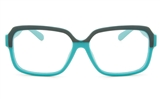 VOV 5147 Polycarbonate Unisex Full Rim Square Optical Glasses