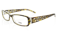 FENDI F664 Stainless Steel/ZYL Full Rim Unisex Optical