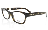 FENDI F827 Stainless Steel/ZYL Full Rim Female Optical